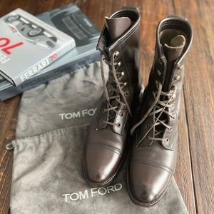 Auth Tom Ford Leather Boots